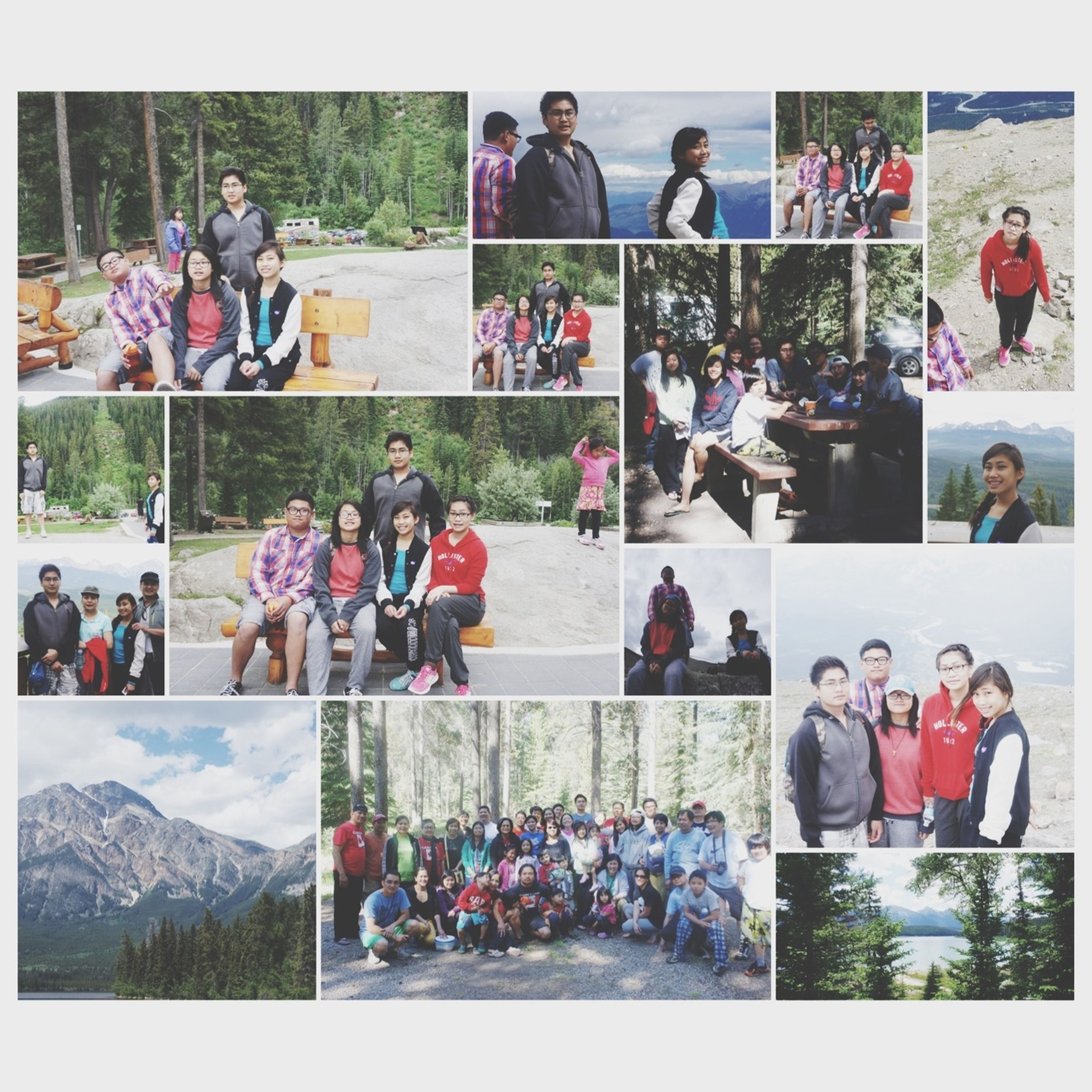 transfer print, large group of people, auto post production filter, men, person, lifestyles, leisure activity, crowd, togetherness, mixed age range, medium group of people, sitting, enjoyment, standing, day, group of people, walking, casual clothing, outdoors