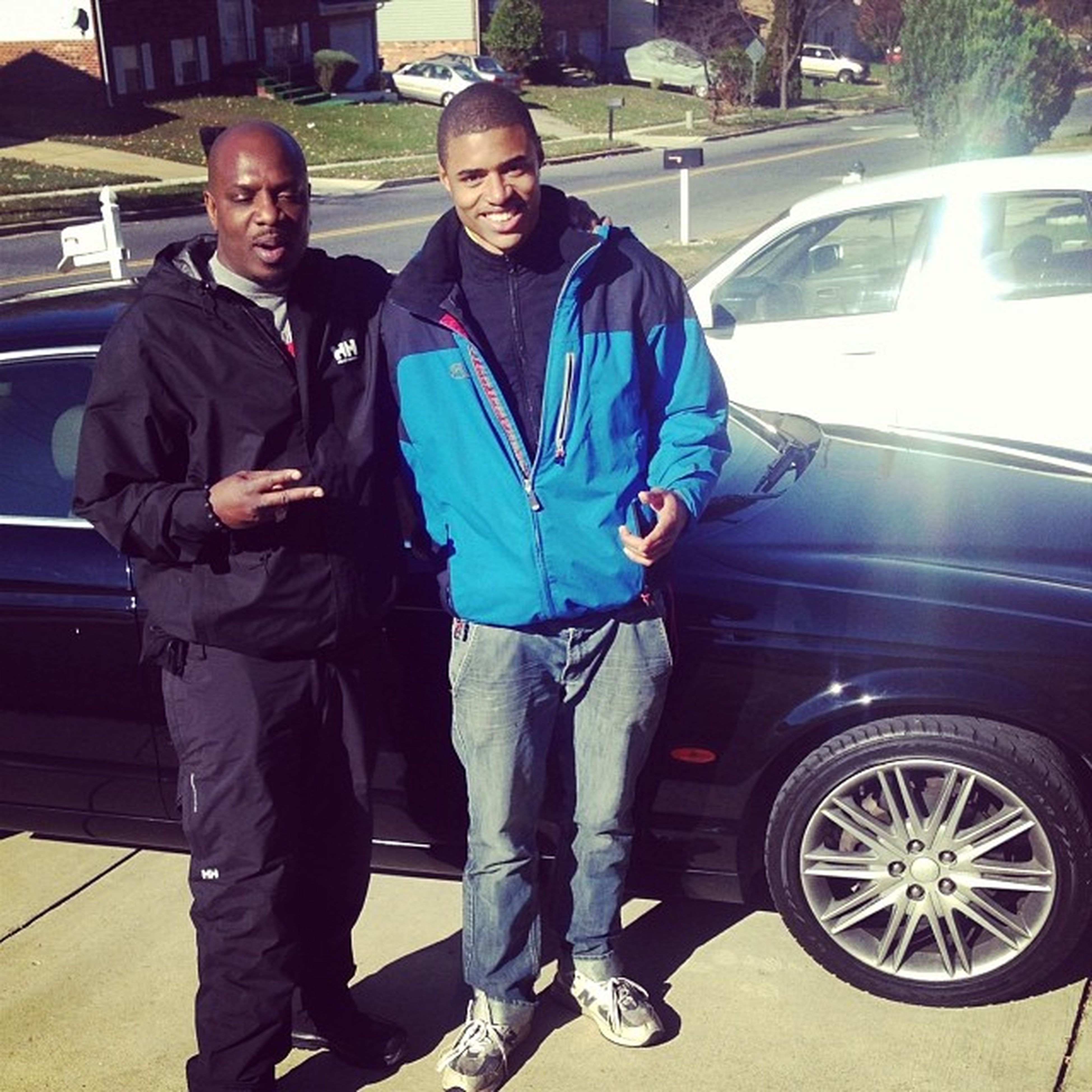 Me And My Pops 2⃣ BOSSES ? .. Pops Had A Full Helly Suit ? HeHip OTF ???