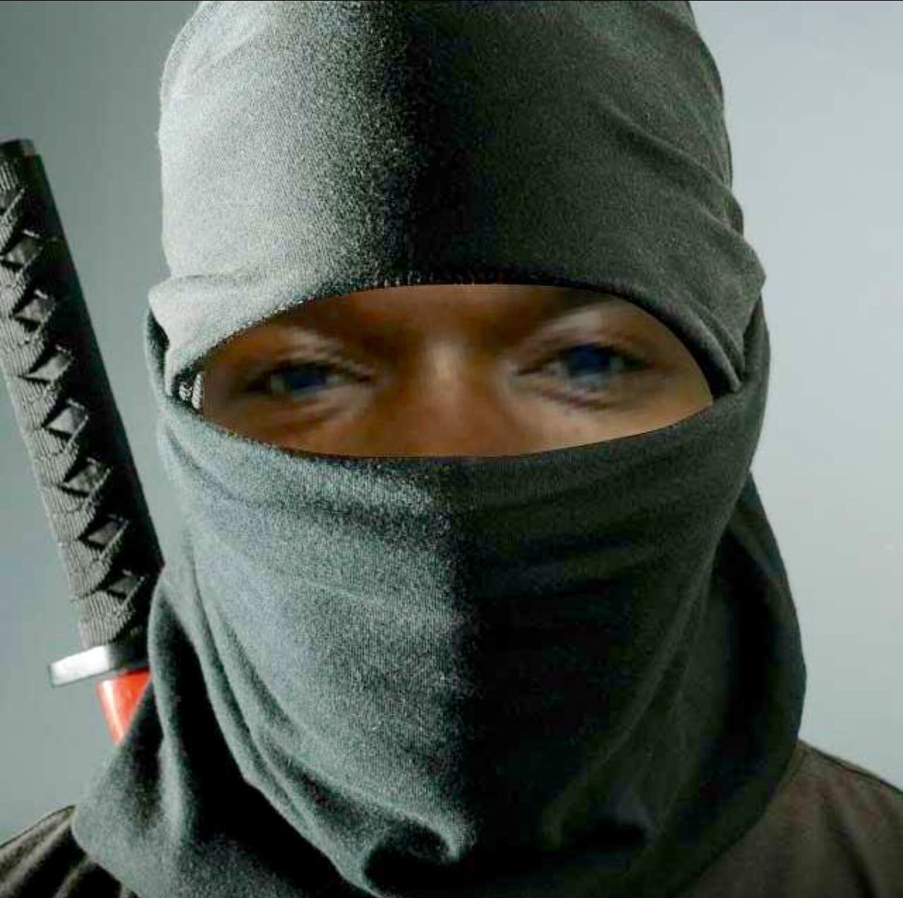 Check This Out I'm A Ninja. Sharp Sword Shaolin Master Of Disguise