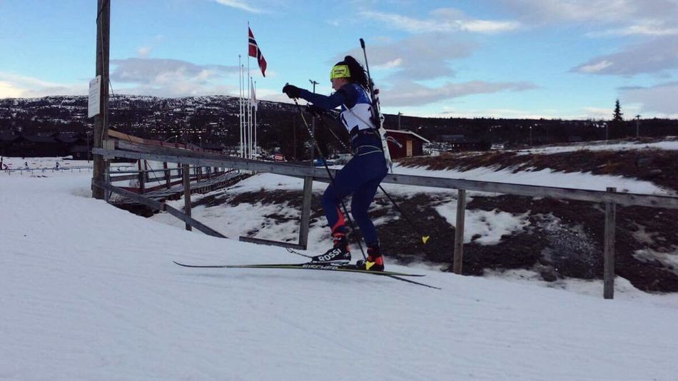 Norway biathlon 🇳🇴 Norwegian Biathlon Race FirstPlace Lovingthismoment Czechrepublic