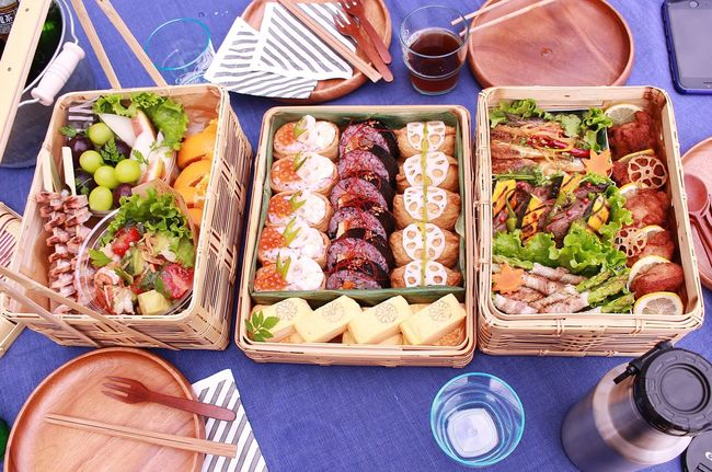 Japanese  Sports Day  Lunch Box Bento Box Family Time 小学校運動会 お弁当