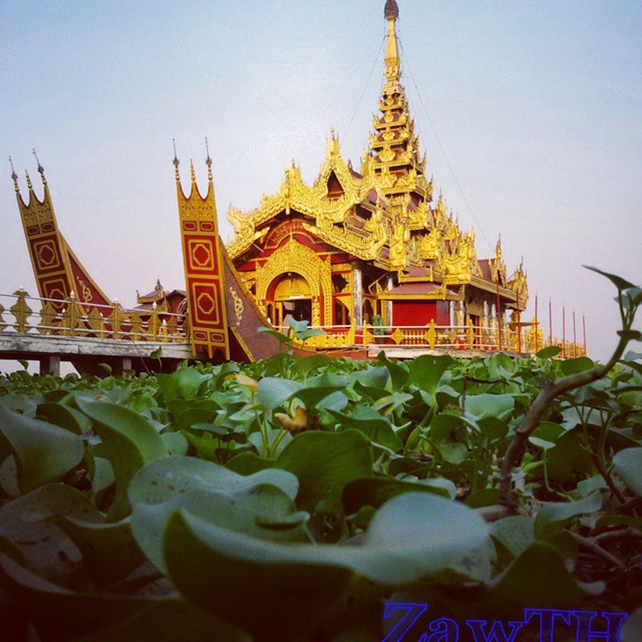 The Pyi-Gyi-Mom Royal Barge. Pyi Gyi Mon Phaung Daw. ျပည္ႀကီးမြန္ ေဖာင္ေတာ္ Royalboat Royalbarge Mandalay Kandawgyi Duckeyeview Myanmar Myanmarphotos Vscomyanmar Igers Igersmandalay Igersmyanmar Zawth Igglobal Rcnocrop