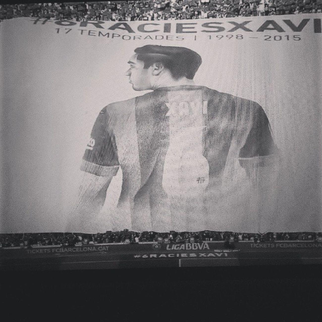 Xavi Goodbye Goal