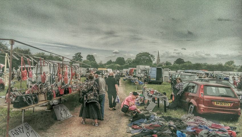Carboot Carbootyfind Hdr_Collection HDR People People Watching Check This Out English Summer