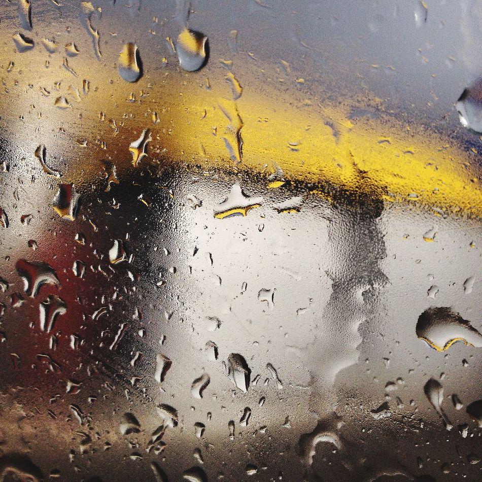 Rain☔️ Rain Дождь капли на стекле Машина пробки First Eyeem Photo