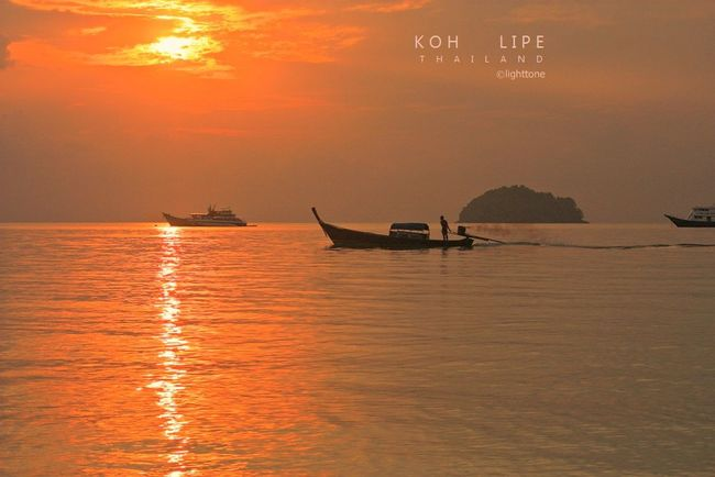 sunrise at Kih Lipe