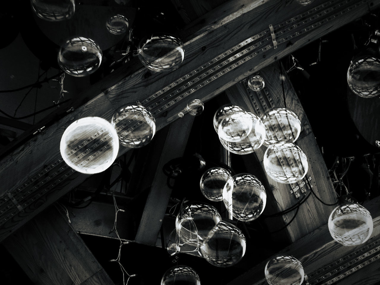 drinking glass, high angle view, table, no people, plate, indoors, wineglass, day, water, close-up