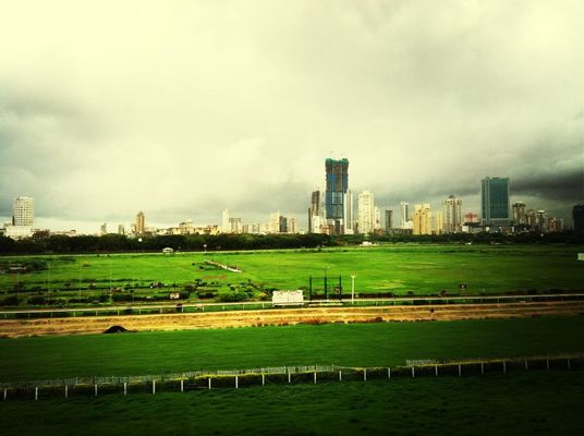 Guru Poornima at Mahalaxmi Race Course (Royal Western India Turf Club) by Dwijendra  Biswas
