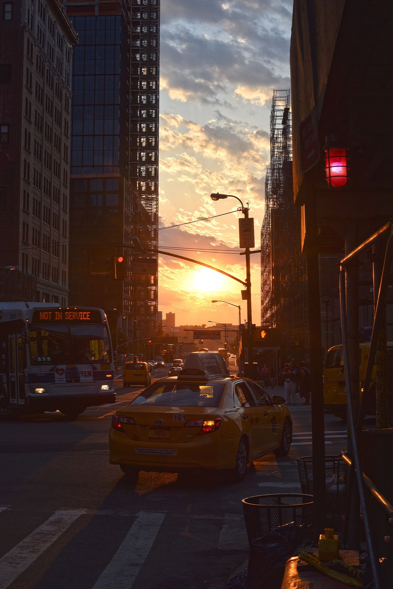 Car Sunset Transportation Land Vehicle Building Exterior Architecture Built Structure City Mode Of Transport Sky Outdoors Illuminated No People Road Day Silhouette Silhouettes Silhouette_collection Cab Nyc Taxi NYC Street Photography NYC Photography NYC NYC Street Sunset Silhouettes