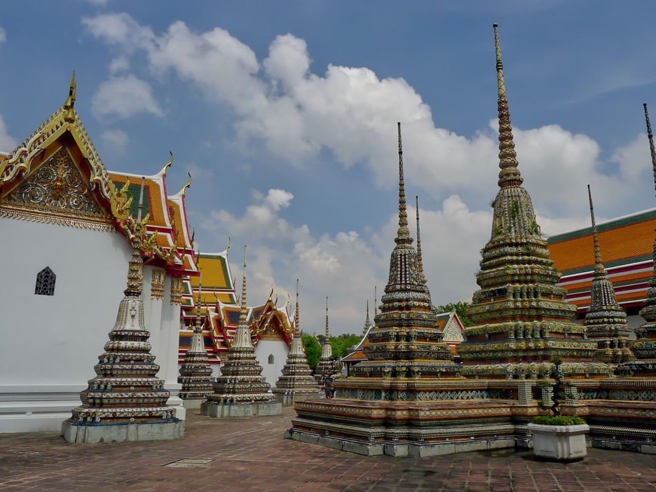 Architecture Building Exterior Built Structure Day No People Outdoors Place Of Worship Religion Sky Spirituality Travel Destinations Wat Phra Kaeo
