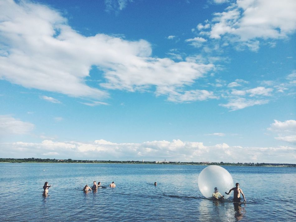 Beautiful stock photos of summer, Blue, Calm, Cloud, Day