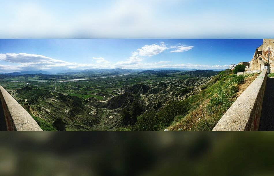Landscape Beauty In Nature Nature Day No People Sky Nature Italy Around Italy Holiday Panoramic Landscape Travel Destinations Basilicata, Italy  The Best Place The Secret Spaces