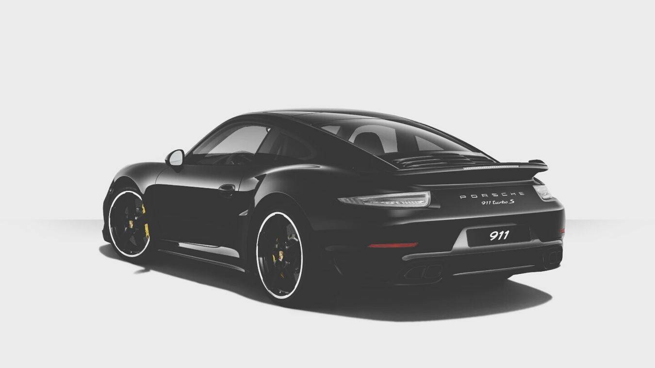 porsche dream car!!! Turbo S Porsche 911 Turbo S Black On Black 😍😍😍 Custom