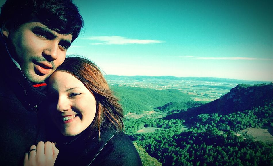 Ella y yo. Catalunia Calm Naturaleza Taking Selfies Relaxing ELLA❤ Yo
