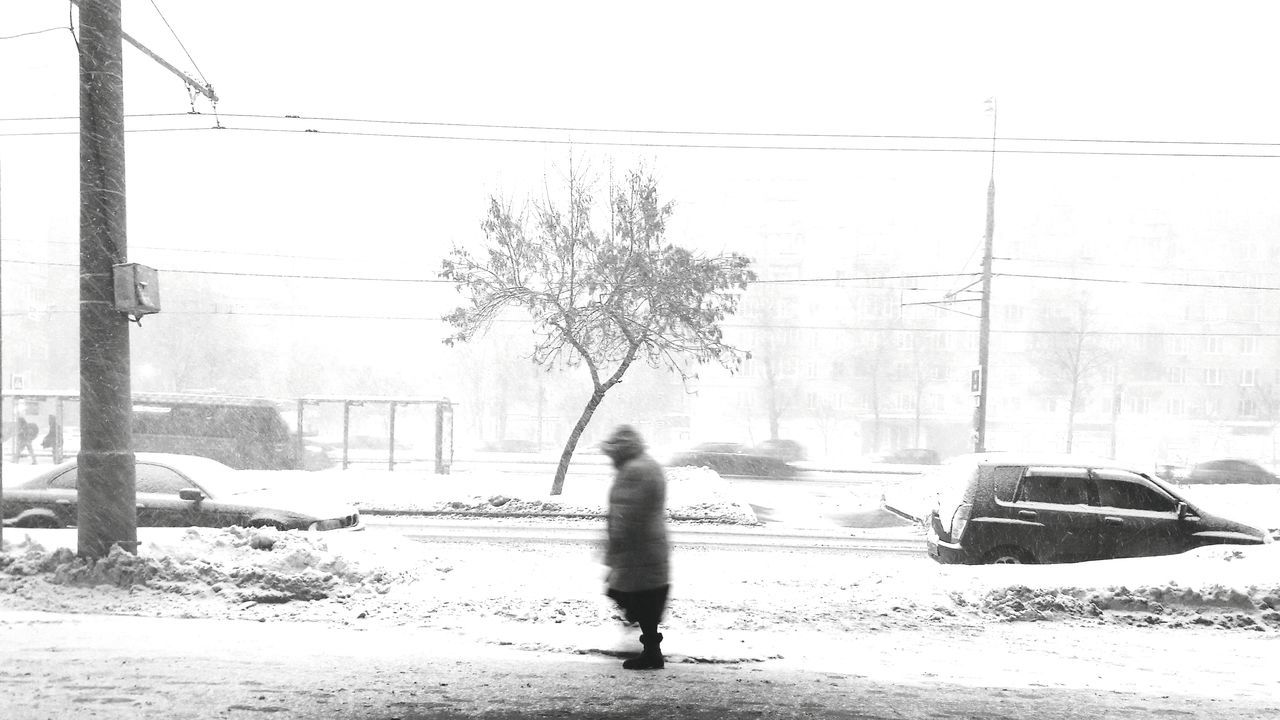 It's Cold Outside Russian Winter Winter Landscape Season Greetings Seasonal Photography Seasons Changing Snow Covered Snow Day Street Photography Lonely Person Capture The Moment Random People Random Shot Black & White B&w Street Photography Minimalistic Black And White See The World Through My Eyes Moscow Russia Black And White Photography Silhouette Lonely Tree Minimal Photography Still Life