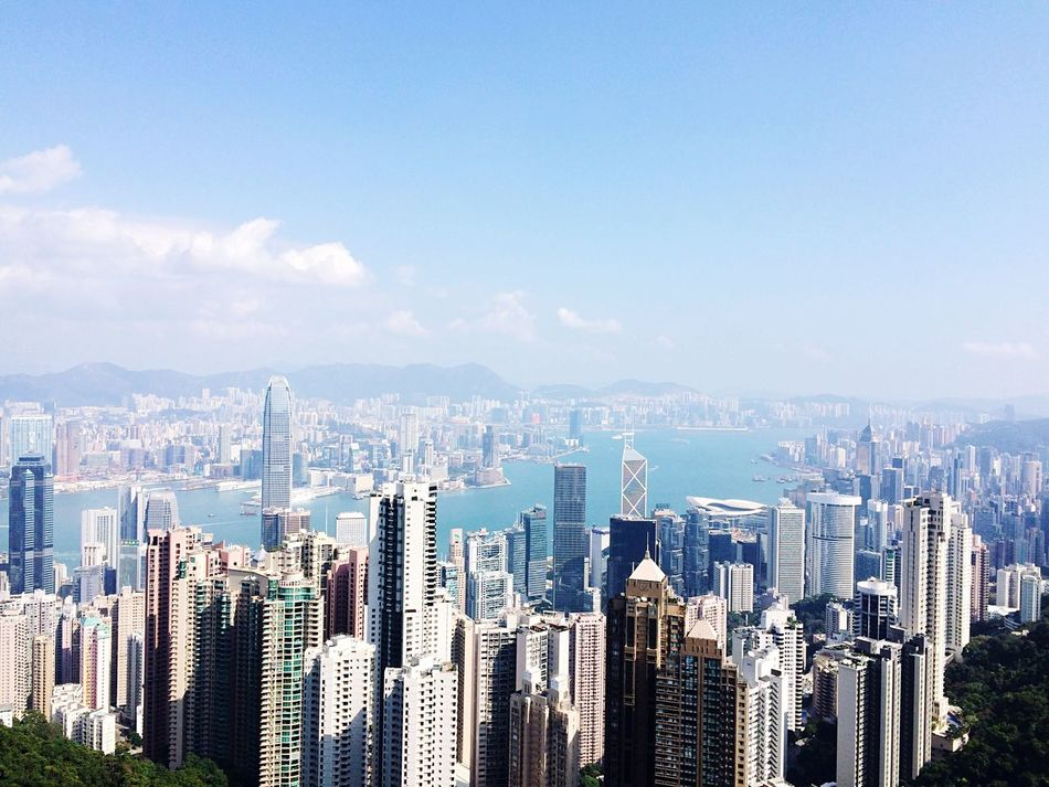 Beautiful stock photos of hong kong, Architecture, Building, Building Exterior, Built Structure
