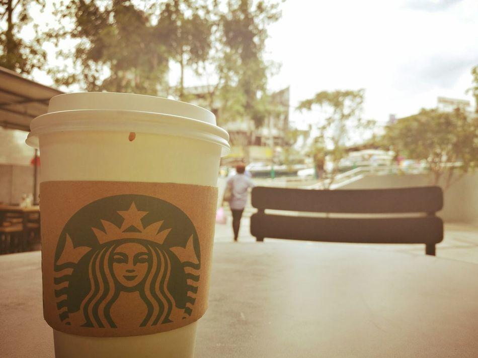 Coffee Break Starting A Trip Bangkok Relax