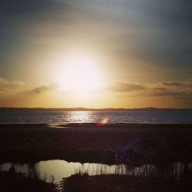Lush view!'👌💕 Beach Westonshore Waterreflection Lush Lushview Sky
