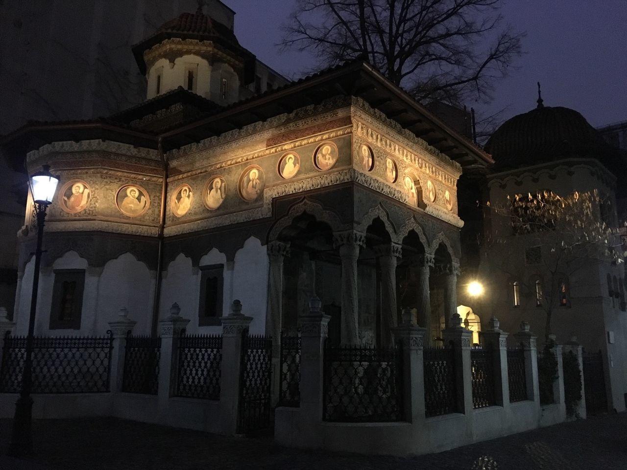Learn & Shoot: After Dark Night Stavropoleos Monastery Church Orthodox Bucharest Bucharestbynight Romania Eastern Europe