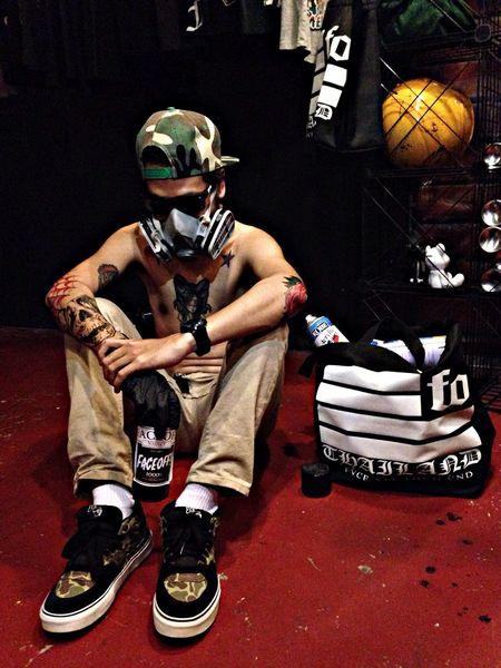 Street Art Tattoo Enjoying Life FVCE XFF!