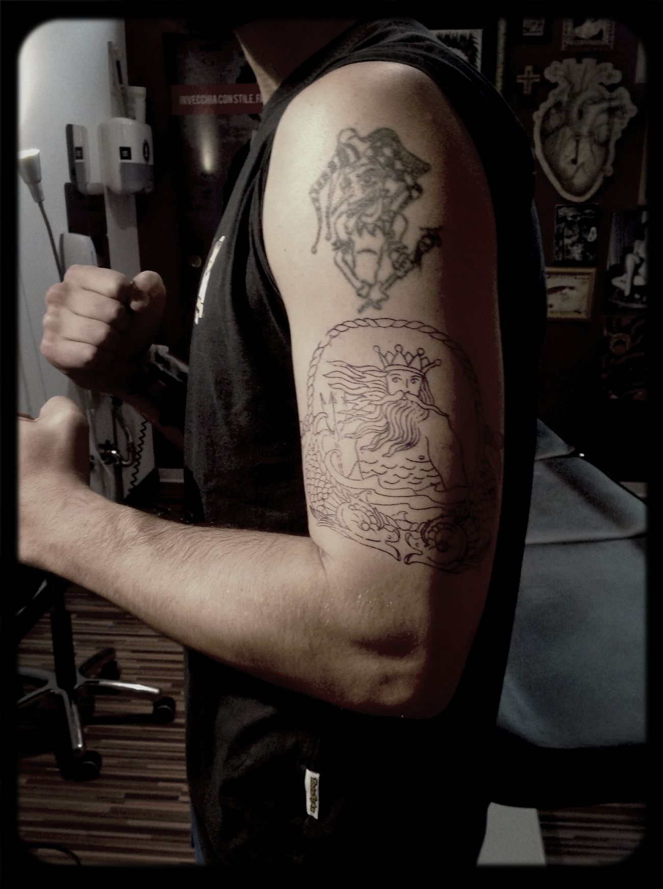 Poseidon Tatoo Tattoo No Pain, No Gain Getting Inked Ouch!