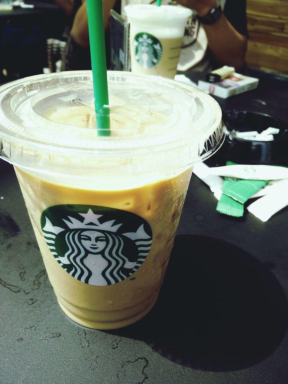 Hanging Out Starbucks Centerpoint Coffe Latte VanillaLatte
