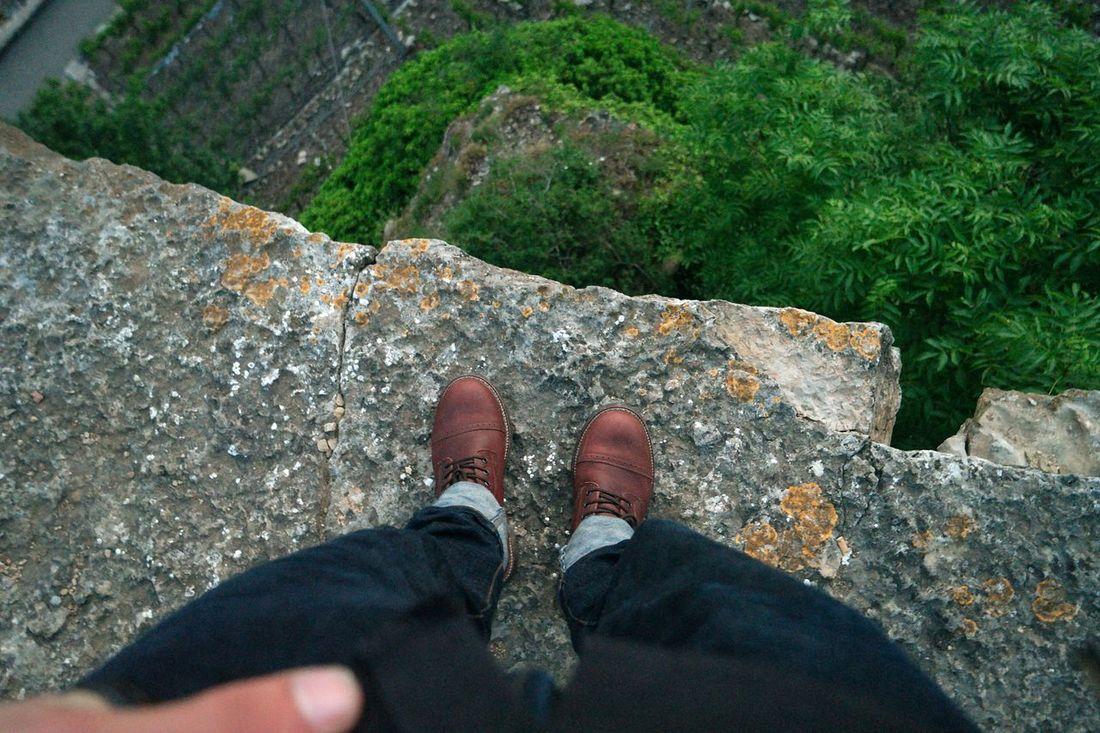 Ich Liebe Meine Schuhe  Felsen Garten Hoch Oben Rockabilly Style ✌ The Great Outdoors - 2017 EyeEm Awards