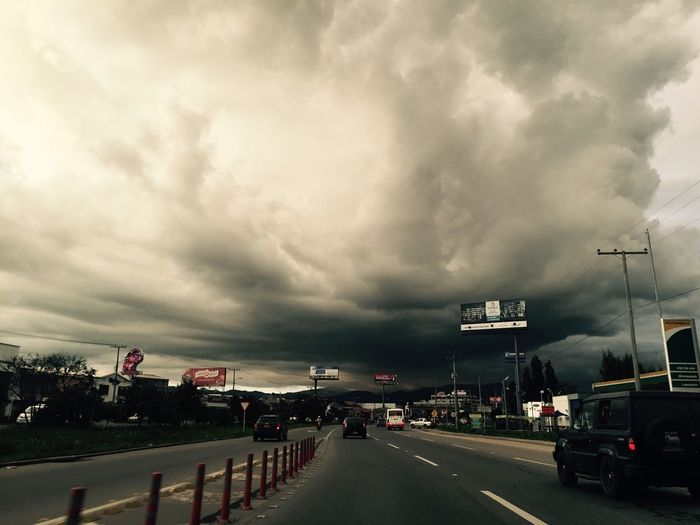 Before a big storm in the highway First Eyeem Photo