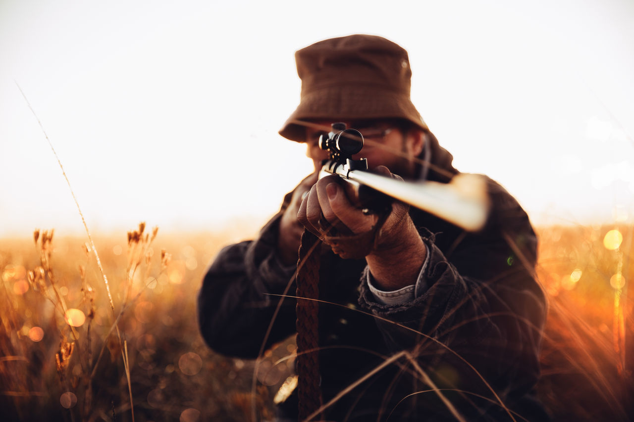 Beautiful stock photos of hunting, 54-59 Years, Accuracy, Adventure, Aiming