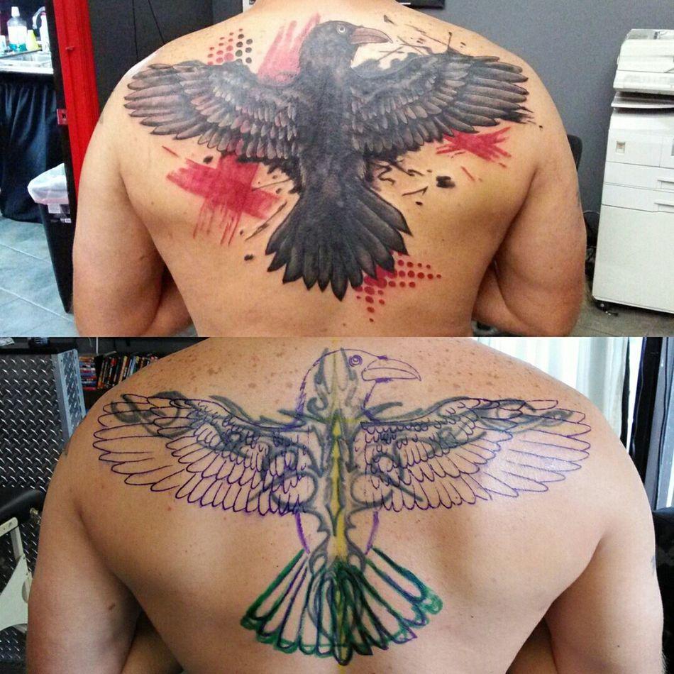 Trashpolka  Tattoosbyniko Tattoo