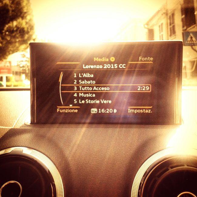 Q Audi ♡ Jovanotti Viaggiando Audi A3 Sport Back