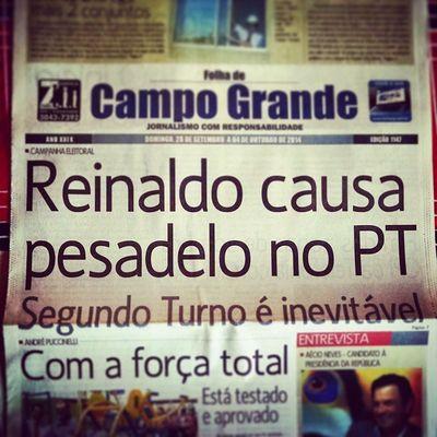 """""""Reinaldo está tirando o sono do PT..."""" Por que será? Segundoturno Agoravai"""