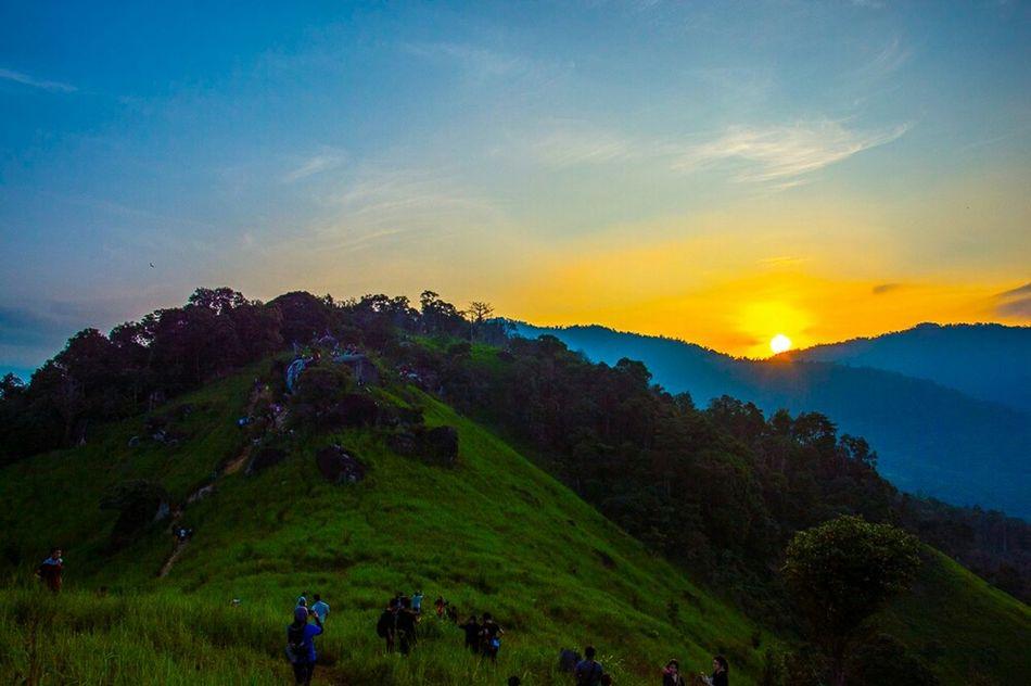 Sunrise at Broga Hills, Semenyih. Brogahill Travel Hiking Mountain Sunrise Green Sun Morningz The Moment - 2015 EyeEm Awards My Best Photo 2015