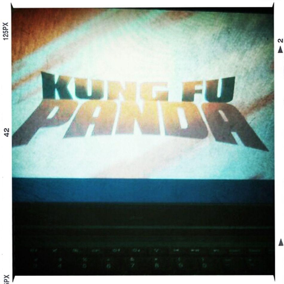 kung fu panda before I hit the hay