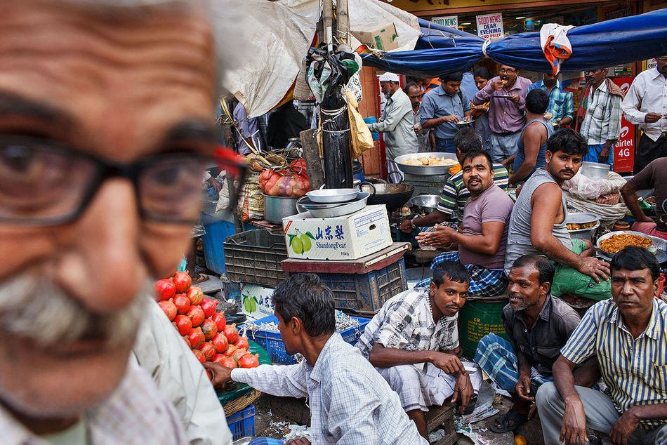 A busy street scene from Kolkata, India. Street Streetphotography Street Photography India Kolkata ASIA
