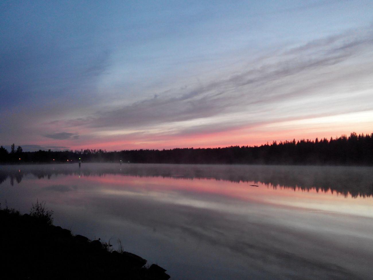 Finland Saimen Landscape Sunset