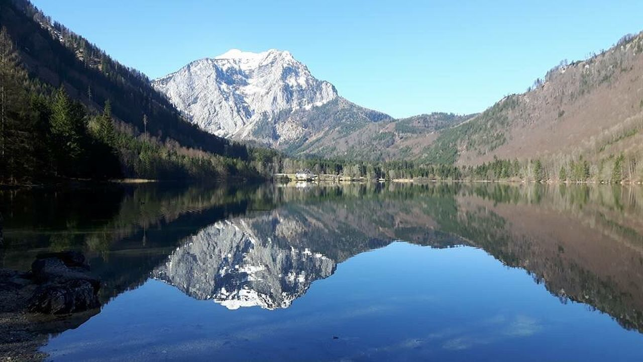 Mountain Lake Sky Water Nature Idyllic Beauty In Nature Upper Austria  Laudachsee Gmunden Lovleyplace EyeEmNewHere