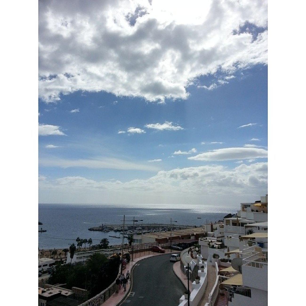 Escapando del frío noviembre del norte cual guiri! Puertorico Mog án GranCanaria Islascanarias CanaryIslands Canarias Canariasgrafías CanariasViva Sunday Sunny