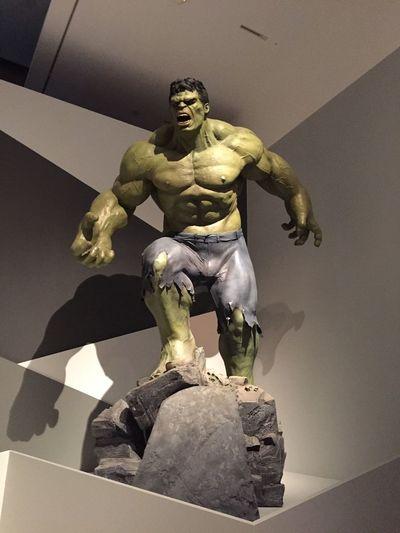 The Hulk Marvel Comics Marvel Exhibit Goma Brisbane