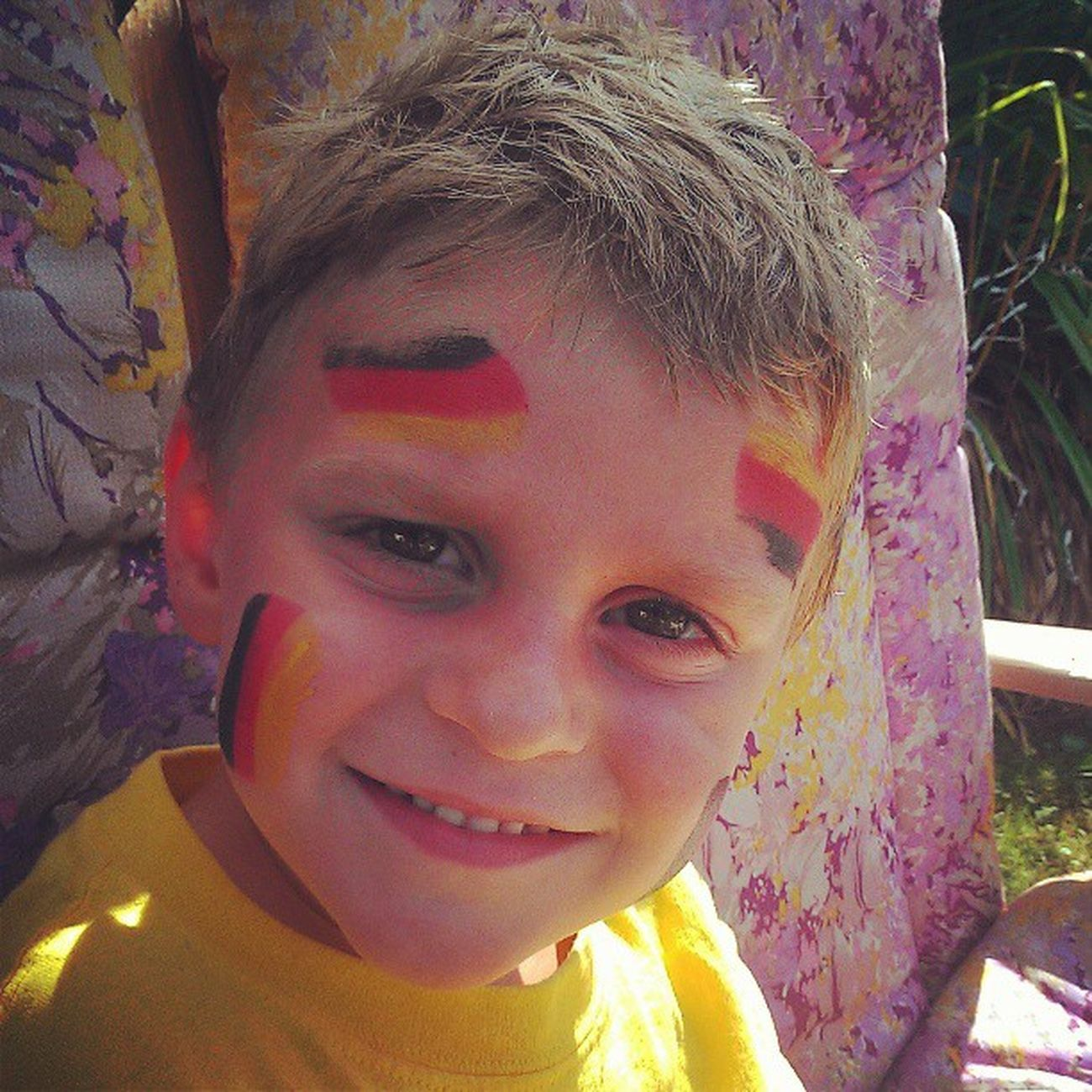 My nephew cheering Germany on and proud!!! UEFA Euro Cup 2012 Deutschland Diemannschaft