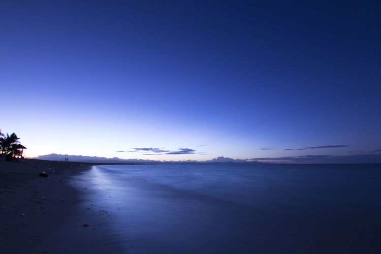 Blue Clear Sky Coastline Color Palette Copy Space Dawn Day Distant Eyeemphoto First Light Of The Day Kalanggaman Island Ocean Outdoors Philippines Scenics Sea The Way Forward Tourism Tranquility Overnight Success