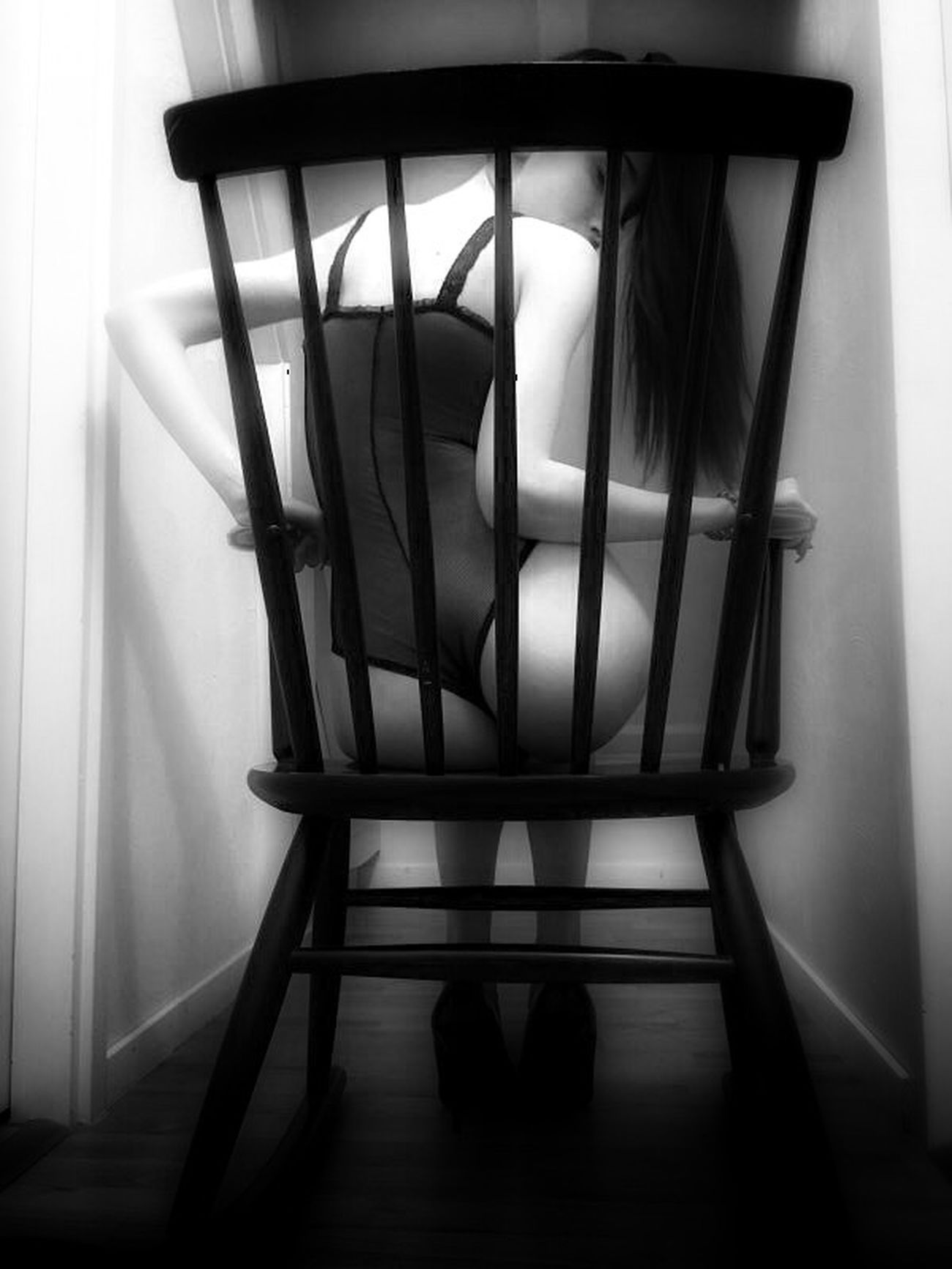 Woman Black And White EyeEm Best Shots EyeEm Best Edits Chair Details