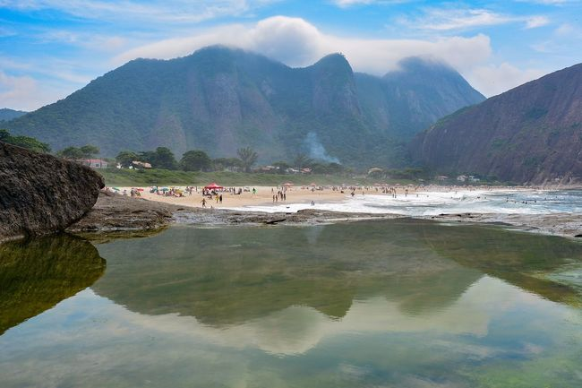 Showcase: February Life Is A Beach Being A Beach Bum ExploringBrazil Reflection Water Reflections Getting Inspired EyeEm Best Shots Eye4photography