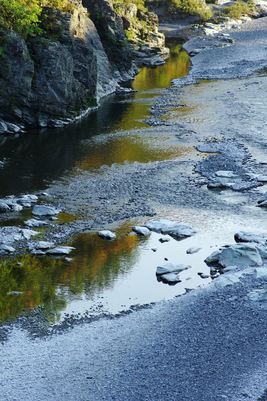 water, rock - object, nature, no people, day, outdoors, tranquil scene, tranquility, river, beauty in nature, scenics