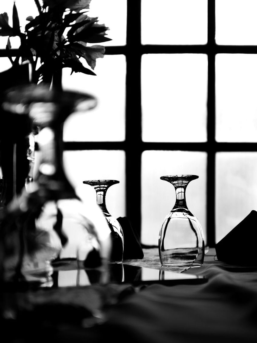 Glass Cheers Silhouette_collection Window Wineglass Black And White Black & White Reflection Eyeem Philippines Flower Base