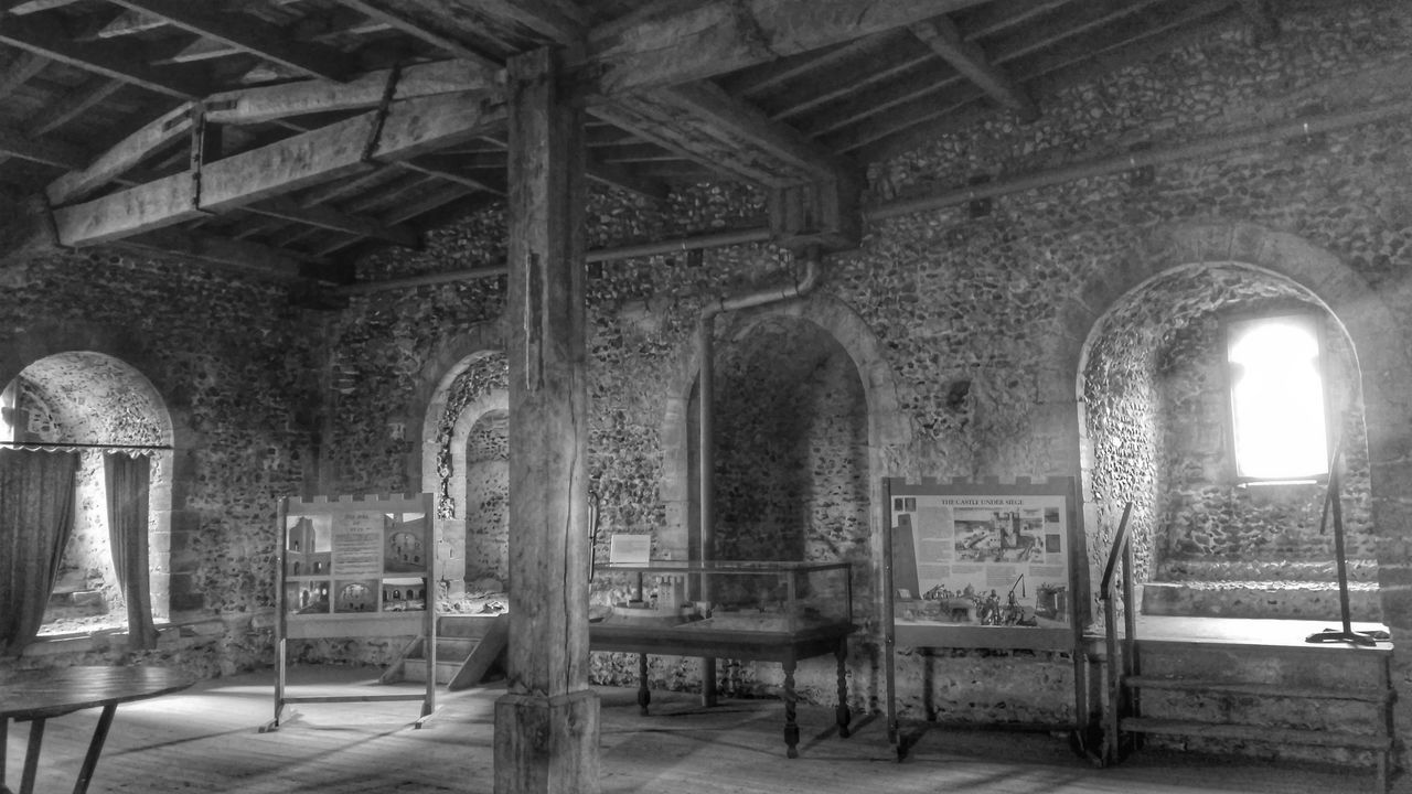 Medieval Furniture Wooden Beams Beams Castle Architectural Detail Light And Shadow Timber Beam Arches Arch Windows Window Stone Wall Stone Medieval Architecture Black And White Black&white Black And White Photography Light And Shadows