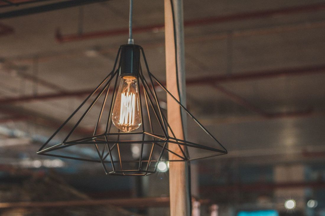 Hanging No People Electricity  Shadow Illuminated Low Angle View Outdoors Close-up Day Sky Illumination Illuminati Lamps And Lights. Market Interior Design Muebles Furniture Design Furniture Details Architecture Light Bulb Lamp Store Retail  Metal