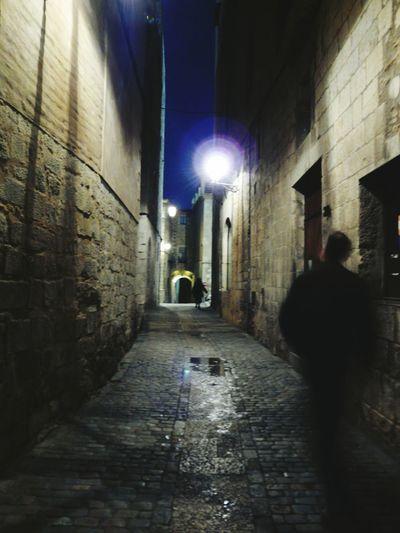 Paseando Alma Descocida en la Sombra, Arquitectura , The Shadow Sould Girona Night Medieval Architecture My Photo