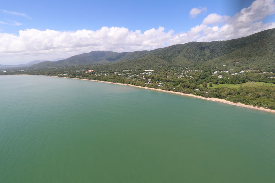 Aerial View Australia Beauty In Nature Coastline Day Landscape Mountain Nature No People North Queensland Ocean Outdoors Scenics Travel Destinations Water