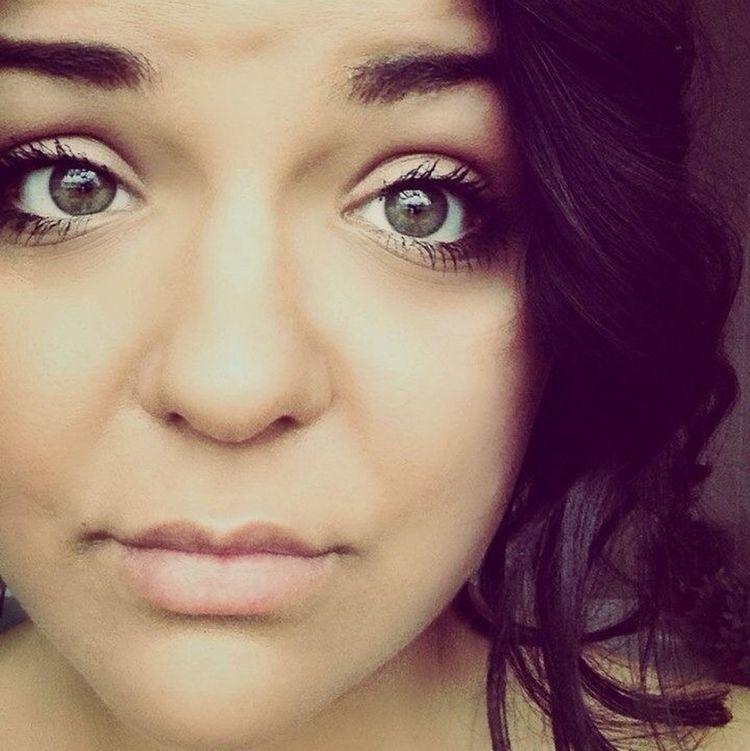 #girl#eyes#green